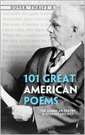 101 Great American Poems by American Poetry & Literacy Project: Book Cover