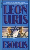 Exodus by Leon Uris: Book Cover