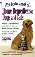 The Doctors Book of Home Remedies for Dogs and Cats by Prevention Magazine Editors: Book Cover
