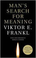 Man's Search for Meaning - with New Foreward by Viktor E. Frankl: Book Cover