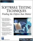 download Software Testing Techniques : Finding the Defects that Matter book
