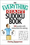 The Everything Giant Sudoku Book by Charles Timmerman: Book Cover