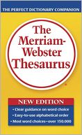 Merriam Webster Thesaurus by Merriam-Webster: Book Cover