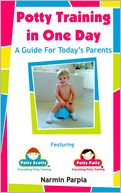 Potty Training in One Day by Narmin Parpia: Book Cover
