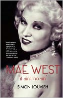 Mae West by Simon Louvish: Book Cover
