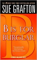 B Is for Burglar (Kinsey Millhone Series #2) by Sue Grafton: NOOK Book Cover