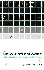 Whistleblower by Peter Rost: Book Cover