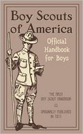 Official Handbook for Boys by Boy Scouts Of America: Book Cover
