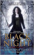 Black Night (Black Wings Series #2) by Christina Henry: Book Cover