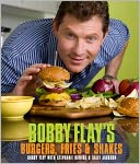 Bobby Flay's Burgers, Fries, and Shakes (PagePerfect NOOK Book) by Bobby Flay: NOOK Book Cover