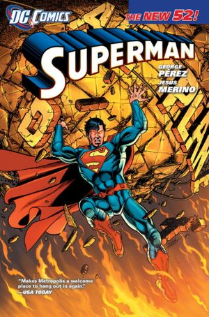 Books pdf format free download Superman Vol. 1: What Price Tomorrow? (The New 52) by George Perez (English literature)