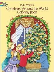Christmas Around the World Coloring Book (Dover Coloring Book) by Joan O'Brien: Book Cover