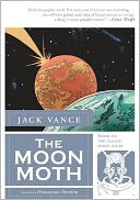 The Moon Moth by Jack Vance: Book Cover