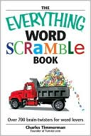 The Everything Word Scramble Book by Charles Timmerman: Book Cover