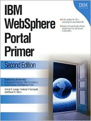 IBM WebSphere Portal Primer by Ashok Iyengar: Book Cover