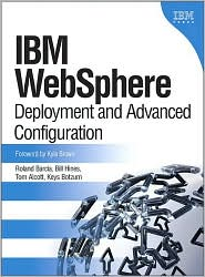 IBM Websphere by Roland Barcia: Book Cover