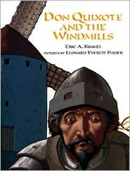 Don Quixote and the Windmills by Eric A. Kimmel: Book Cover
