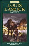 Sackett by Louis L'Amour: Audio Book Cover