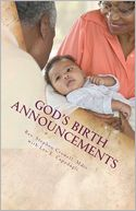 God's Birth Announcements by Stephen Crowell: Book Cover