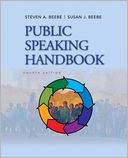 Public Speaking Handbook by Steven A. Beebe: Book Cover