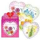 Flowers Valentine Box Card Set of 32 by EEBOO: Product Image