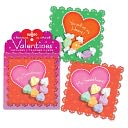 Candy Valentine Box Card Set of 32 by EEBOO: Product Image