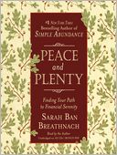 Peace and Plenty by Sarah Ban Breathnach: Audio Book Cover