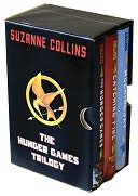 The Hunger Games Trilogy Boxed Set by Suzanne Collins: Book Cover