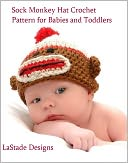 Sock Monkey Hat Crochet Pattern for babies.