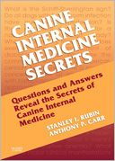 Canine Internal Medicine Secrets by Stan Rubin: NOOK Book Cover