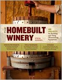 The Homebuilt Winery by Steve Hughes: Book Cover