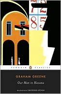 Our Man in Havana by Graham Greene: Book Cover