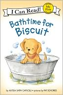 Bathtime for Biscuit (My First I Can Read Series) by Alyssa Satin Capucilli: NOOK Kids Read to Me Cover