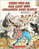 There Was An Old Lady Who Swallowed Some Leaves! by Lucille Colandro: NOOK Kids Cover