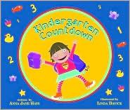 kindergarten countdown by anna jane hays  book cover