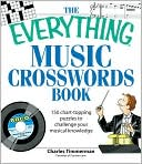 The Everything Music Crosswords Book by Charles Timmerman: Book Cover