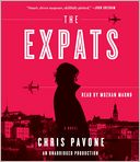 The Expats by Chris Pavone: CD Audiobook Cover