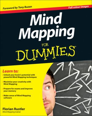Download best sellers ebooks free Mind Mapping For Dummies  in English by Florian Rustler 9781119969150