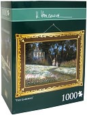 1,000 Pc Puzzle - The Gardens - H. Hargrove by Andrews &amp; Blaine: Product Image