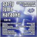 Party Tyme Karaoke: Contemporary Christian by Sybersound: CD Cover