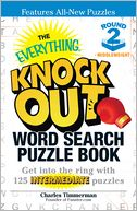 The Everything Knock Out Word Search Puzzle Book by Charles Timmerman: Book Cover