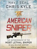 American Sniper by Chris Kyle: Audio Book Cover