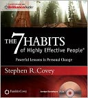 The 7 Habits of Highly Effective People by Stephen R. Covey: CD Audiobook Cover