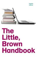 The Little, Brown Handbook by H. Ramsey Fowler: Book Cover