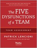 The Five Dysfunctions of a Team by Patrick Lencioni: Book Cover