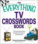 The Everything TV Crosswords Book by Charles Timmerman: Book Cover
