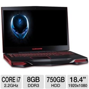 Alienware M18x AM18X 8636BK Notebook PC