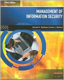 Management of Information Security by Michael E. Whitman: Book Cover