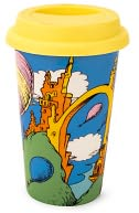 Dr. Seuss Oh, the Places You'll Go! Ceramic Tumbler by Vandor: Product Image