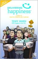 Delivering Happiness - A Round Table Comic by Tony Hsieh: NOOK Book Cover